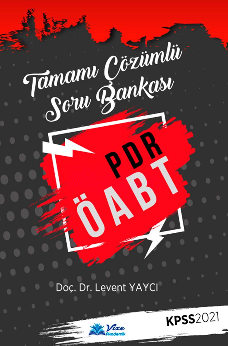Tamamı Çözümlü Soru Bankası  (PDR ÖABT)